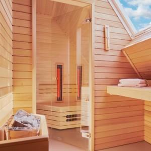luxe sauna